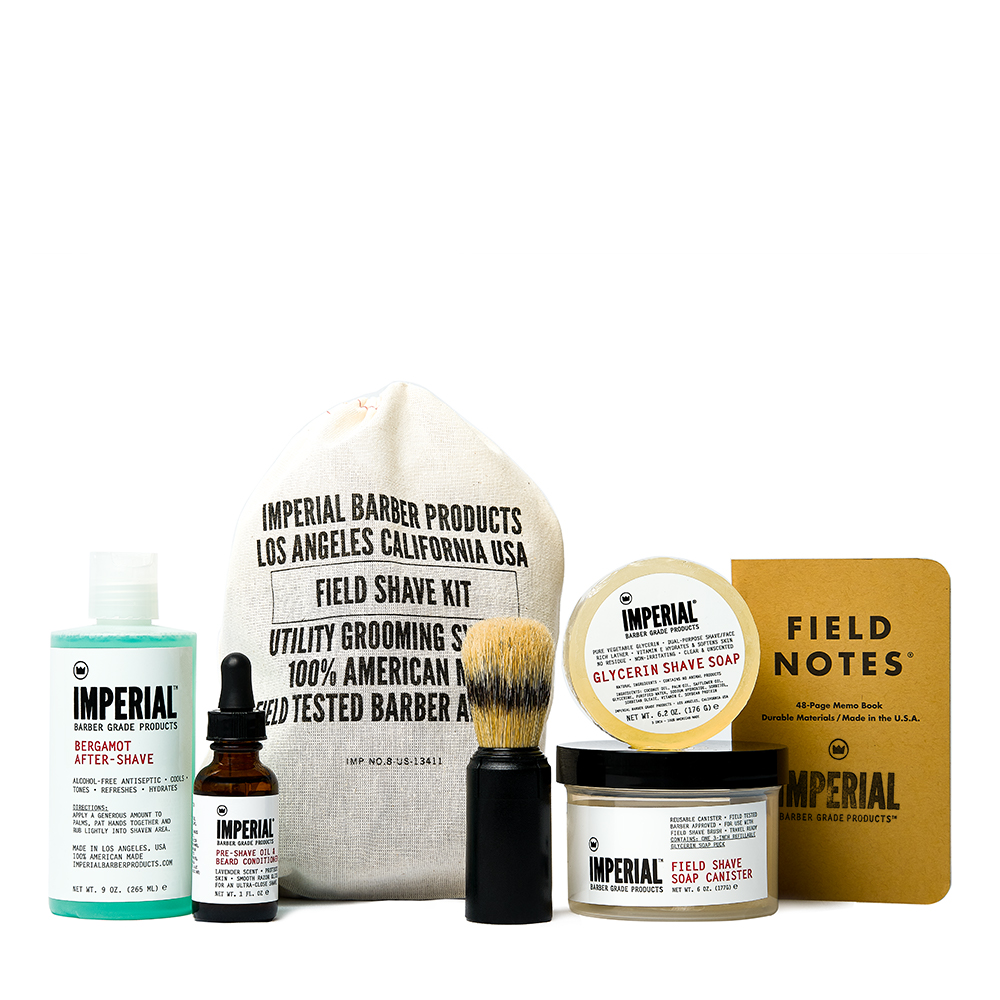 Field Shave Kit NEW Square