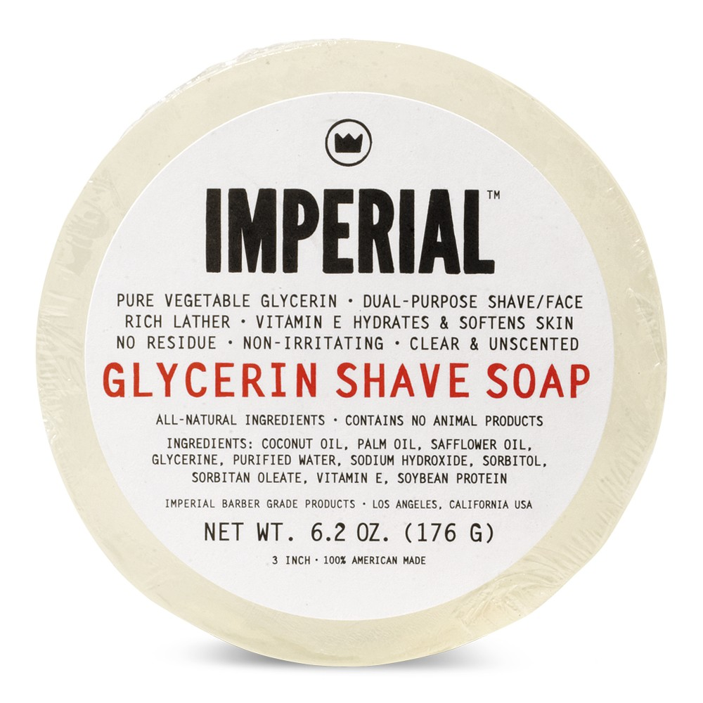 Glycerin Shave Soap (Puck)