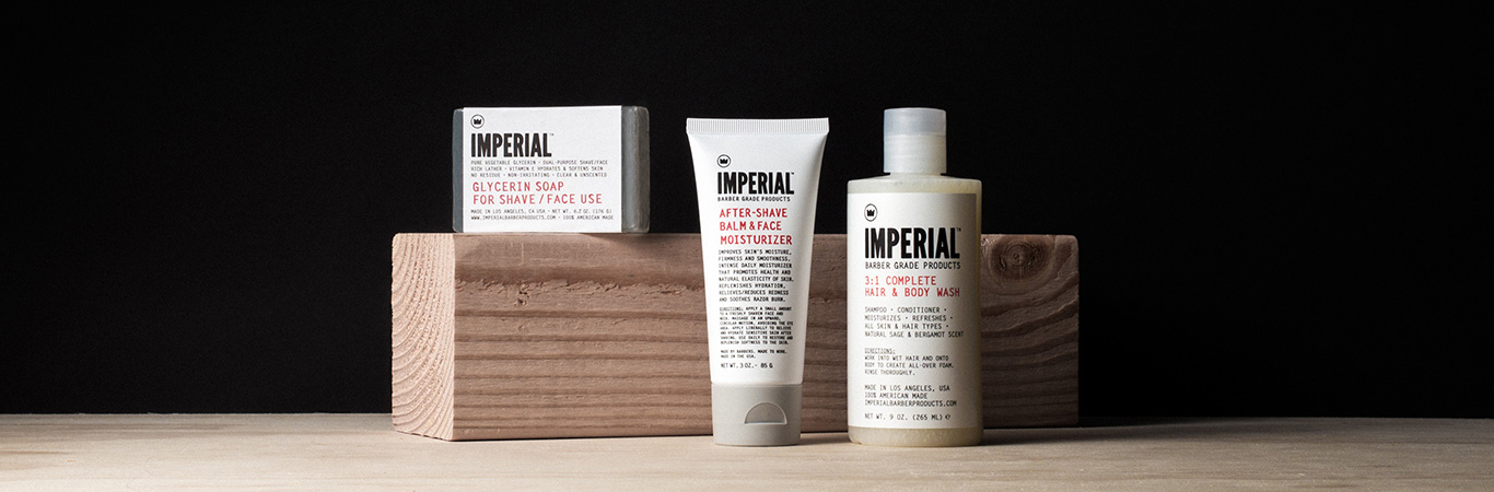 Skin Care Imperial Barber Products